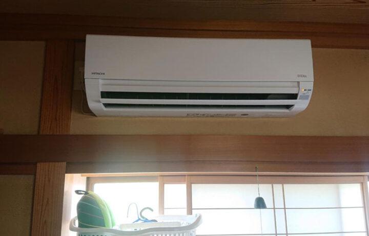 富山市H邸 和室エアコン設置