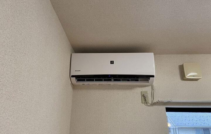 富山市某アパート エアコン入替