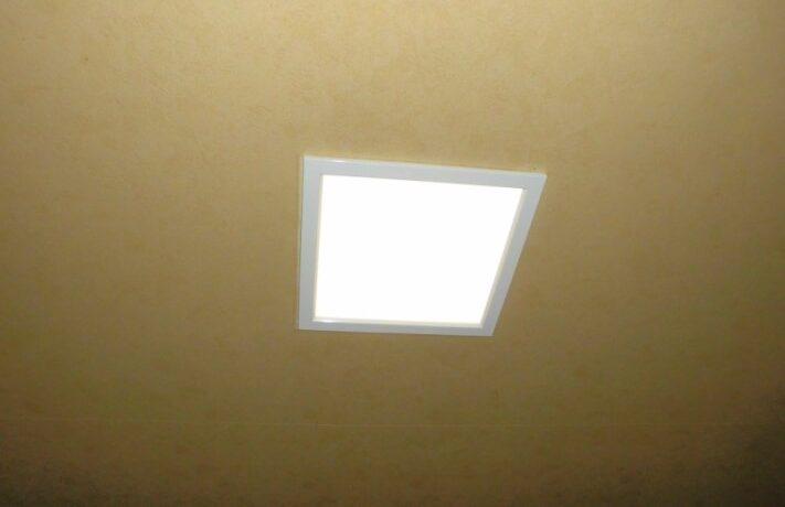 富山市E邸 リビング照明修繕